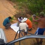 Mais planejamentos da equipe bem no meio da estrada