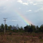 Após o maravilhoso sistema de refrigeração da Terra (Chuva), Deus nos surpreende com a aquarela de cores do arco-íris