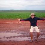Maravilhosas formações montanhosas no Cerrado. Uma das poucas elevaçoes de terreno