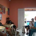 Jogando conversa fora em um pacato bar da cidade de Mambaí / GO